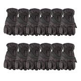 12 of Yacht & Smith Mens Winter Warm Waterproof Ski Gloves, One Size Fits All Black