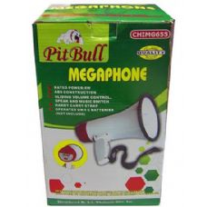 6 of Compact megaphone with speak and music switch