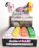 72 of Double White LED Mini Flashlight