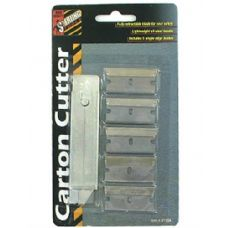 72 of Carton cutter with extra blades
