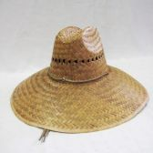 48 of Adults Large Brim Straw Summer Sun Hat