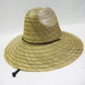 24 of Adults Straw Summer Sun Hat