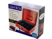 6 of Multi-Compartment Steel Locking Cash Box