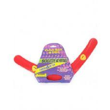 72 of Red plastic boomerang