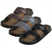36 of Men's 2 Strip Upper All Rubber Soft sandals