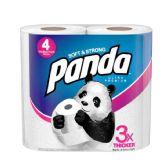 6 of Panda Ultra Bath Tissue 176 Sheets 2 Ply 4 pk