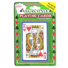 72 of Plastic coated playing cards