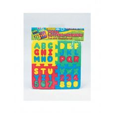 36 of Foam letter and number puzzle
