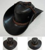 72 of Shiny LeatheR-Like Cowboy Hat