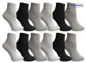 12 of Yacht & Smith Women's Assorted Color Quarter Ankle Sports Socks, Size 9-11
