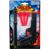 72 of TOY GUN WITH SOFT DARTS AND ACCESS IN BLISTER CARD