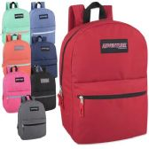 24 of Adventure Trails 17 Inch Backpack - 8 Colors