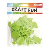 96 of Craft Fun Green Letters