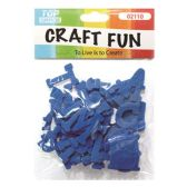 96 of Craft Fun Blue Letters