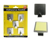 96 of 5pc Adhesive Hooks