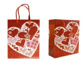 144 of Small Heart Gift Bag