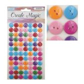 144 of Craft Magic Sticker Buttons