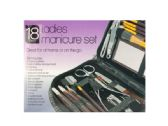 18 of Ladies Manicure & Grooming Set