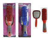 144 of 2 Piece Hair Brush+Mirror