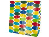 72 of Extra Large Multi-Colored Dots Gift Bag