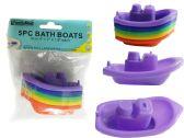 "96 of 5pc Bath Boats 4"" X2"" X1.9"" H"