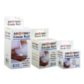 48 of Gauze Bandage Assorted Size