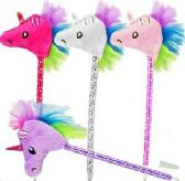 60 of Plush Unicorn Pens
