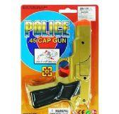 36 of Police .45 Cap Guns - Gold