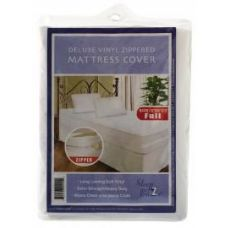 24 of Heavy Duty Zippered Mattress Cover - King