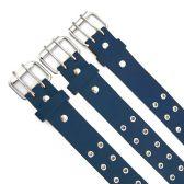 48 of Double Hole Navy Blue Belt