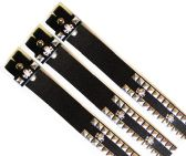48 of No Buckle Studded Belt with Skulls