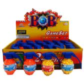 96 of TOY PELLET GUN IN COLOR BOX, BLACK AND SILVER ASSORTED