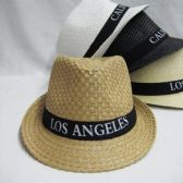 "36 of ""Los Angeles""Fedora Hat"