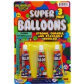 144 of SUPER BALLONS ON BLISTER CARD