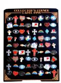144 of 72 Piece hat pins unit, assorted religious designs(styles may vary)