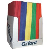 100 of Two Pocket Folders - Assorted Colors