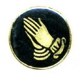 96 of Brass Hat Pin, Praying hands,