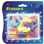 24 of Pencil Cap Erasers - 30 count