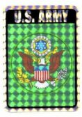 96 of Decal, United States Army