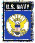 "96 of 3"" x 4"" decal, U. S. Navy"