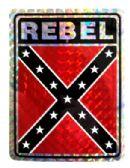 "96 of 3"" x 4"" Rebel decal"