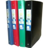 """48 of Flexible Poly Binder - 1"""" - Solid Colors"""