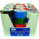 "48 of Duct Tape - Assorted 6 colors - 1.89""(2"") x 10 yards"