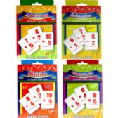 48 of Math Flash Cards: Addition, Subtraction, Multiplication, Division