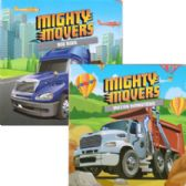 48 of Children's 'Mighty Movers' Board books