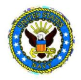 """96 of 3"""" Round decal, United States Navy,"""