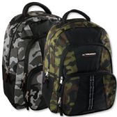 24 of Trailmaker 18 Inch Camo Daisy Chain Backpack