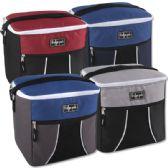 24 of Fridge Pak 24 Can Cooler Bag - 4 Colors