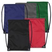 48 of Kids 15 Inch Promo Drawstring Bag - 5 Colors