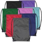 48 of Kids 15 Inch Promo Drawstring Bag - 8 Colors